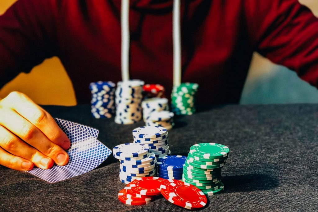 Play live casino games online